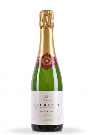 Champagne Laurenti Grande Cuvee Brut Mini (0.375L) (2220, SAMPANIE LAURENTI)