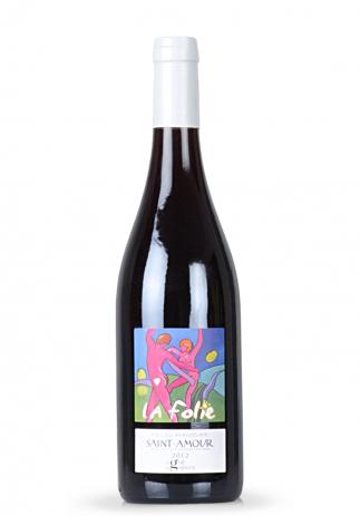 Vin La Folie, Cru du Beaujolais, AOC Saint-Amour 2012 (0.75L) (2641, VIN ROSU SEC BURGUNDIA)