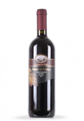 Vin Nero D'Avola Terre Siciliane, Cantina La Torre (0.75L) Image