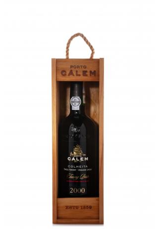 Vin Colheita 2000, Calem Tawny Porto (0.75L) (1970, VIN ROSU DULCE PORTO)