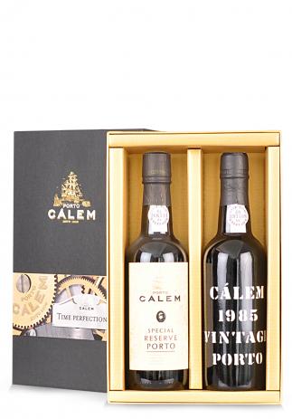 Vin Calem, Duo Time Perfectionist, Special Reserve Porto & Vintage 1985 (2 x 0.375L) Image