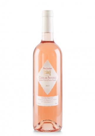 Vin Pere Anselme, A.O.C. Côtes de Provence, 2018 (0.75L) (2089, VIN ROSE SEC PROVENCE)