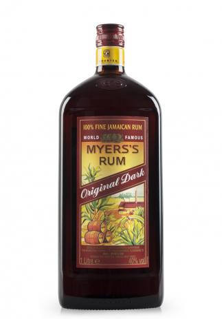 Rom Myers's Original Dark, 100% Fine Jamaican (1L) Image