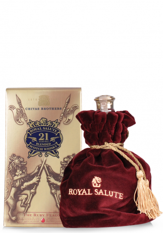 Whisky Chivas Royal Salute 21 ani, The Ruby Flagon (0.7L) Image
