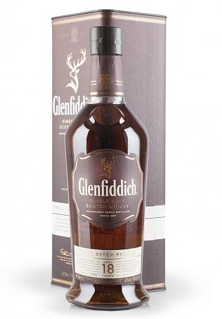 Whisky Glenfiddich 18 ani, Small Batch Reserve (0.7L) (2594, SINGLE MALT SCOTCH AGED WHISKY)