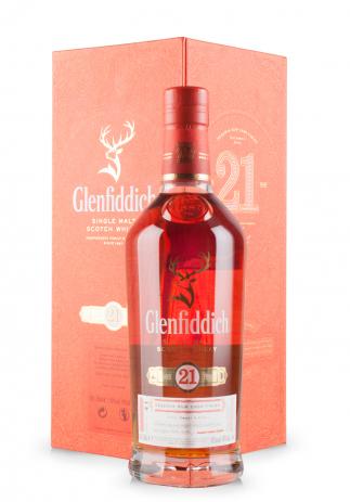 Whisky Glenfiddich 21 ani, Reserva Rum Cask Finish (0.7L) Image