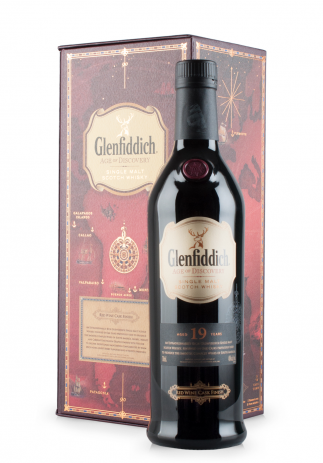 Whisky Glenfiddich 19 ani, Red Wine Finish (0.7L) Image