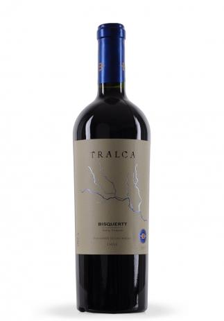 Vin Tralca, Bisquertt Family Vineyards, 2007 (0.75L) (718, VIN ROSU SEC POLIGONOS DE COLCHAGUA)