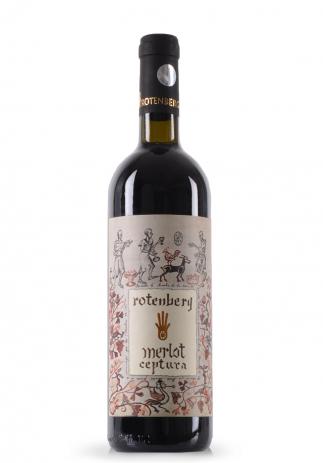 Vin Merlot Rotenberg Clasic, Ceptura (0.75L) (2317, VIN ROSU CEPTURA)