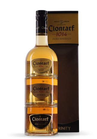 Whisky Clontarf Irish Trinity (3 x 200ml) Image