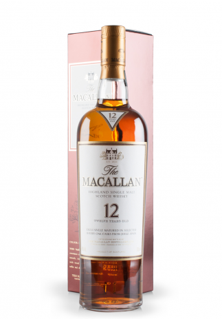 Whisky The Macallan, Highland Single Malt Scotch Whisky, 12 Years Old (0.7L) Image
