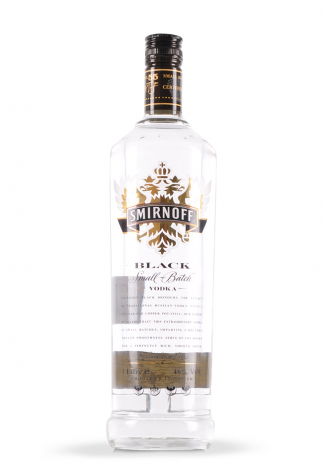 Vodka Smirnoff Black (1L) Image