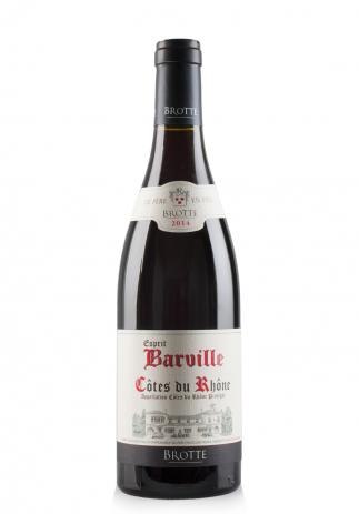 Vin Esprit Barville Rosu, A.O.C. Côtes du Rhône, 2016 (0.75L) Image