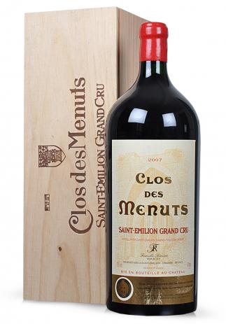Vin Clos de Menuts, Saint-Emilion Grand Cru 2008 (6L) (2263, VIN ROSU SEC BORDEAUX)