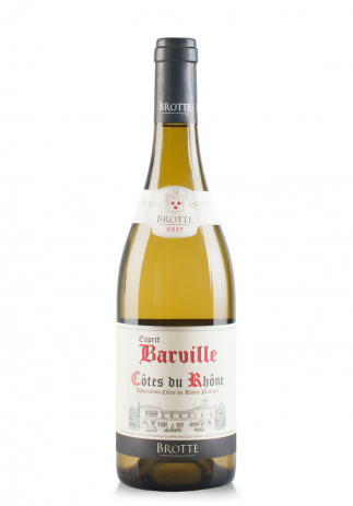 Vin Esprit Barville Alb, A.O.C. Côtes du Rhône 2018 (0.75L) Image