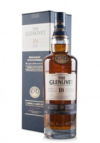Whisky The Glenlivet 18 ani (0.7L) Image