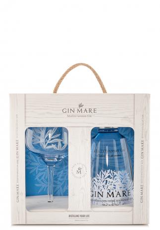 Set Gin Mare, Mediterranean Gin + Pahar (0.7L) Image