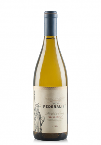 Vin The Federalist Chardonnay, Mendocino County, 2017 (0.75L) Image