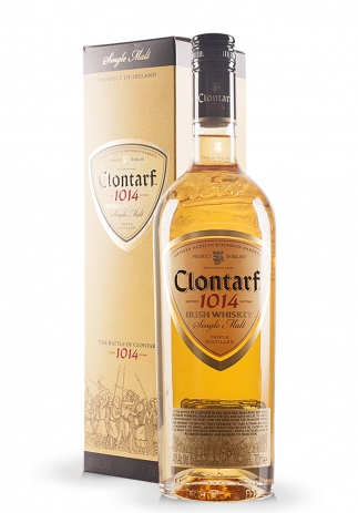 Whisky Clontarf, Irish Whiskey Single Malt + Gift Box (0.7L) Image
