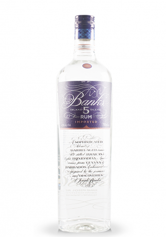 Rom Banks, 5 Island Rum Imported (0.7L) Image