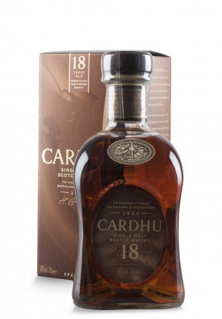Whisky Cardhu, Single Malt 18 ani (0.7L) (3343, CARDHU SINGLE MALT)