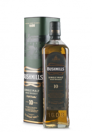 Whisky Bushmills, 10 Year Old Single Malt (0.7L) Image
