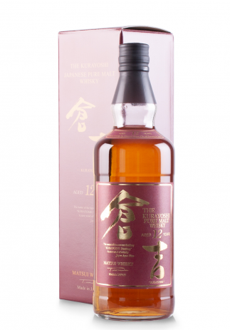 Whisky The Kurayoshi Pure Malt 12 ani (0.7L) (3387, KURAYOSHI WHISKY)