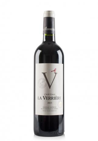 Vin Chateau La Verriere, Bordeaux Superieur 2018 (0.75L) Image