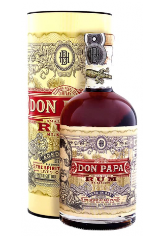 Rom Don Papa, Distilled in Oak + GB (0.7L) Image